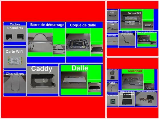 Pièces HP Pavilion DV6700