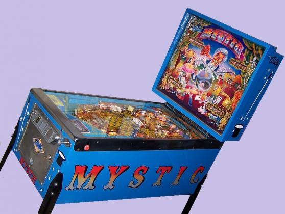 Petite Annonce : Superbe flipper mystic de bally révisé - Collectionneur de longue date, je me sépare de mon mystic qui est en