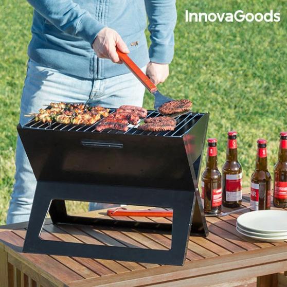 Barbecue à charbon portable et pliable