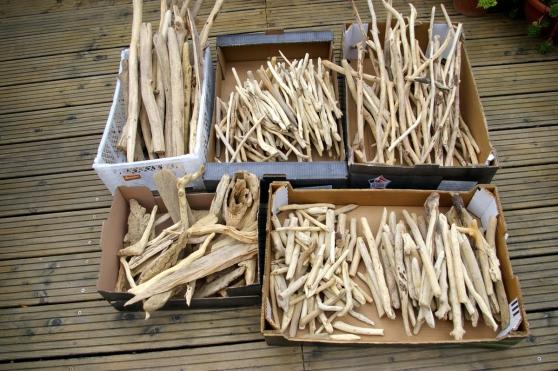 Annonce occasion, vente ou achat 'lot de bois flotté mixte ( 8 kgs )'