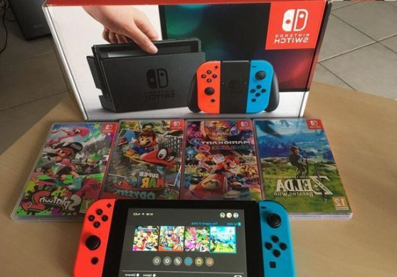 vend nintendo switch