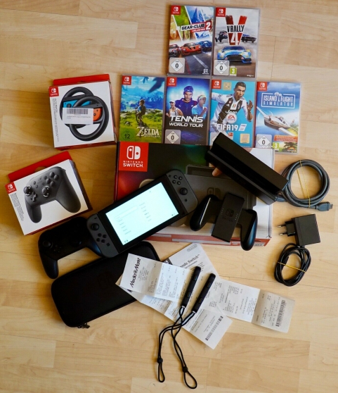 Annonce occasion, vente ou achat 'Console Nintendo Switch'