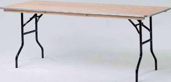 table pliante en bois 120x80 180x80 meubles d coration tables fenouillet reference meu. Black Bedroom Furniture Sets. Home Design Ideas