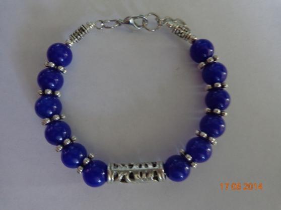 bracelet tibet bleu foncé