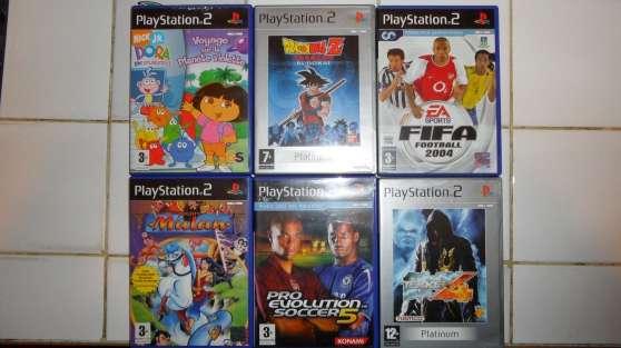 Jeux PS2 complets très bon état