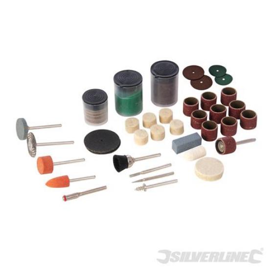 Silverline Ensemble de 105 accessoires p