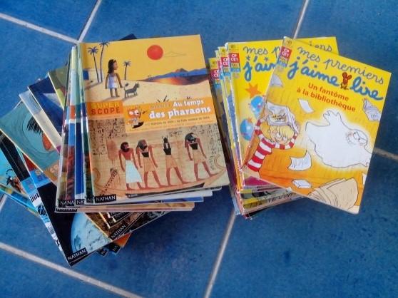 """Petite Annonce : Livres enfants j'aime lire et nathan - Vends collection """"j'aime lire"""" ainsi que """"nathan"""" (crocoscope,"""