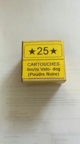 cartouches 6mm, des flobert et autre - Annonce gratuite marche.fr