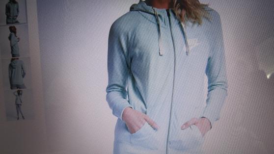 Sweat à capuche Nike Femme Neuf,taille M - Photo 2