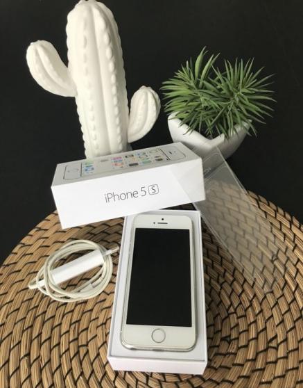 iphone 5s/16gb blanc débloqué - Annonce gratuite marche.fr