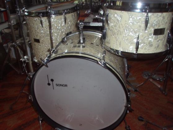 60's sonor teardrop percussioni - Annonce gratuite marche.fr