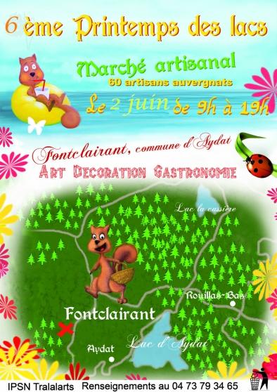 fete de l'artisanat le printemps des lac - Annonce gratuite marche.fr