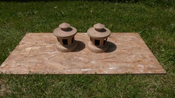 Chapeaux de tuile - Imérys - Diam 120