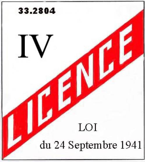 licence 4 transférable
