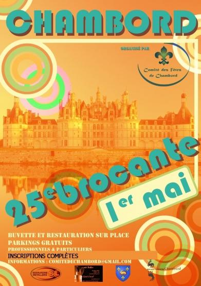 Annonce occasion, vente ou achat 'Brocante de Chambord'
