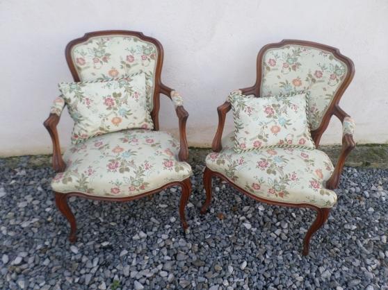 Annonce occasion, vente ou achat 'fauteuils cabriolet style louis XV'