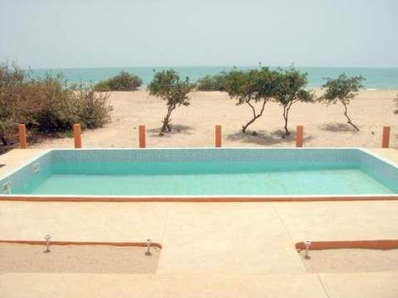 location villa en bord de mer au sénégal