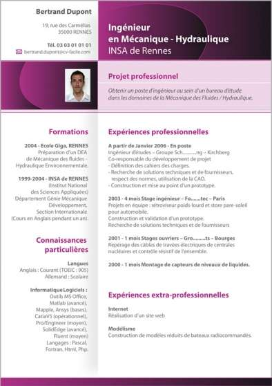 cr u00e9ation cv design  cv original emplois creation  u00e0 nantes