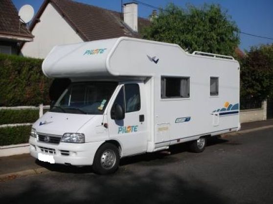 Camping car pilote 7 places