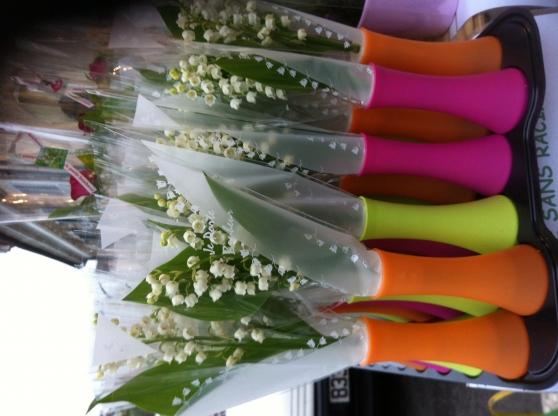 Vends mat riel vase pot pour le muguet jardin nature - Petite boite plastique pas cher ...