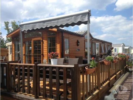 Ensemble mobil-home + terrain + annexes
