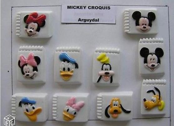 Fèves Mickey croquis DISNEY Neuve