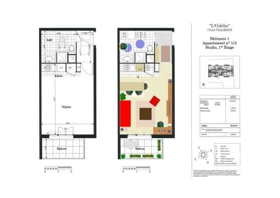 Studio 30 M² Villenoy / Meaux