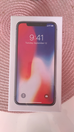 Annonce occasion, vente ou achat 'IPHONE X 256GB Gris sideral'