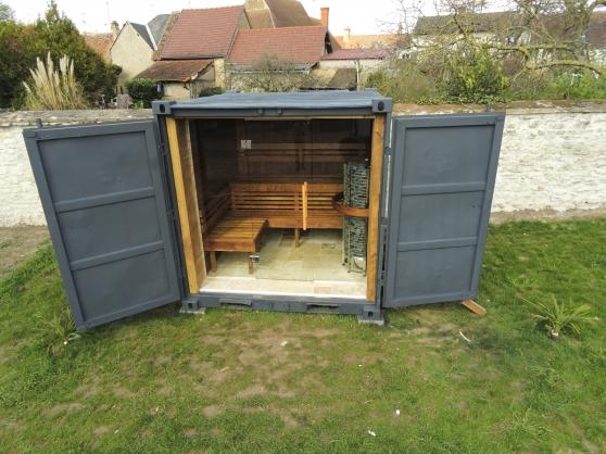 sauna container