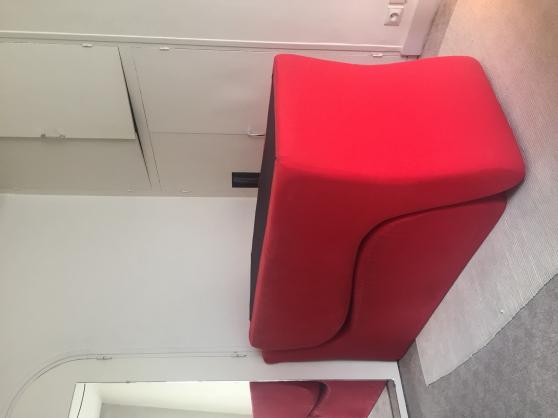 Méridiennes sofa rouge - Photo 2