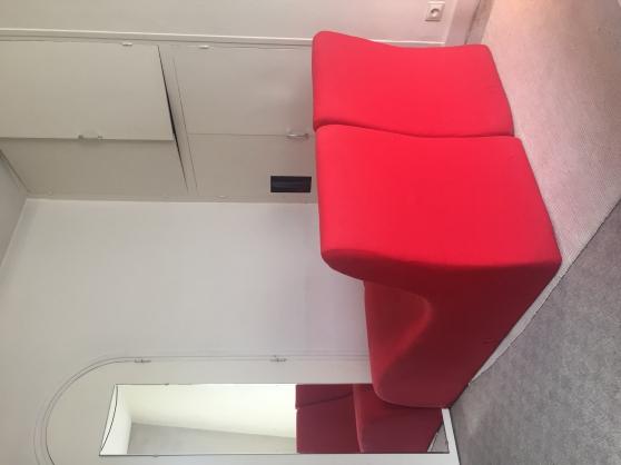 Méridiennes sofa rouge - Photo 3