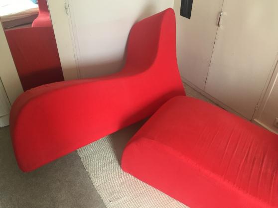 Méridiennes sofa rouge - Photo 4