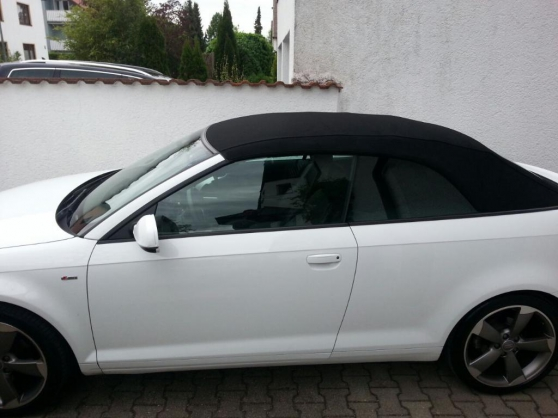 Annonce occasion, vente ou achat 'Audi a3 cabriolet 2.0 TDI 140 PS Sline'