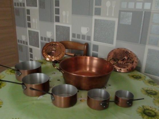 casseroles & confiturier cuivre - Annonce gratuite marche.fr