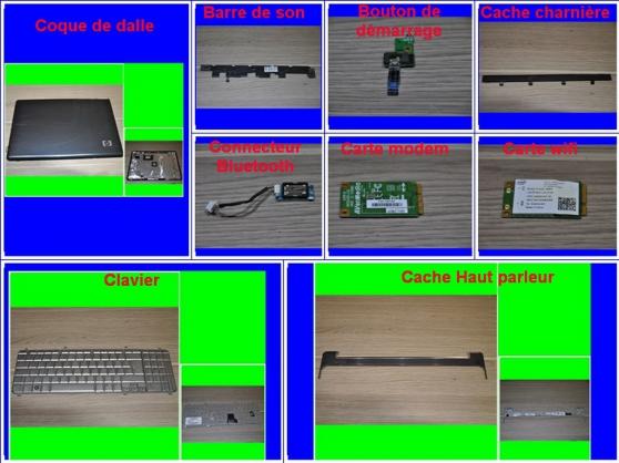 Pièces HP Pavilion HDX16-1050ef 16 pouce