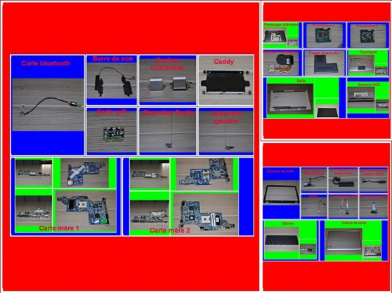 Pièces HP Pavilion DV6-3075sf 15,6 pouce