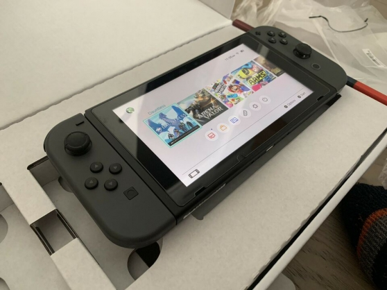 Annonce occasion, vente ou achat 'Nintendo switch 2019 like new'