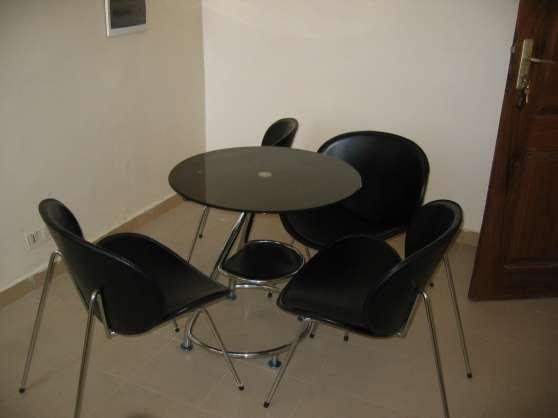 Appartement Meublés 3ch+salon climatisée