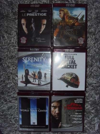 vend ou échange 6 DVD-HD