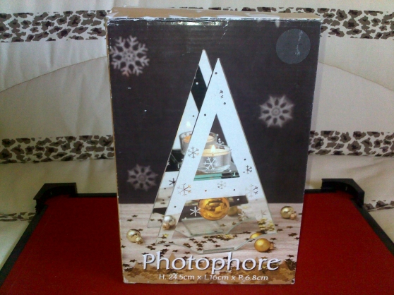 Photophore forme triangle