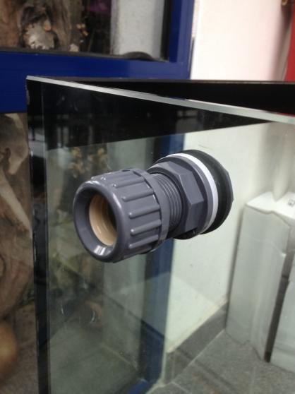 Perce tout aquarium en verre tout diamèt - Photo 2