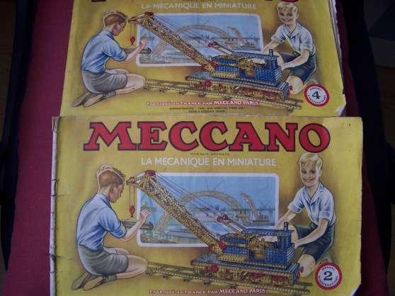 Annonce occasion, vente ou achat 'meccano'