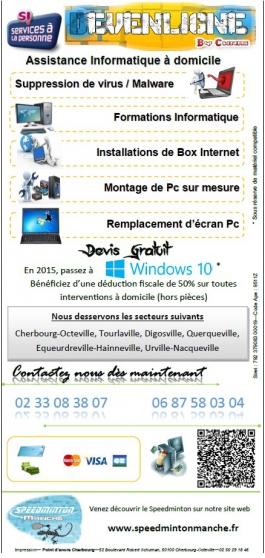 Annonce occasion, vente ou achat 'Assistance informatique à domicile'