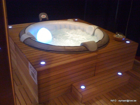 Spa jacuzzi gonflable lille jardin nature piscine - Jacuzzi gonflable occasion ...