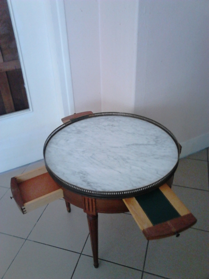 Annonce occasion, vente ou achat 'Table bouillotte Louis XVI en merisier'