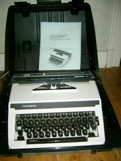 machine a ecrire - Annonce gratuite marche.fr