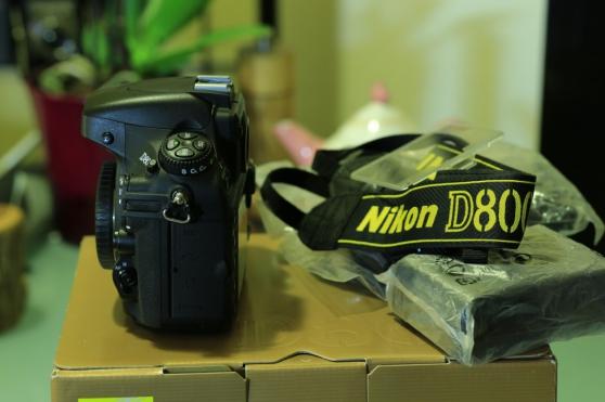 Je vends Nikon D800