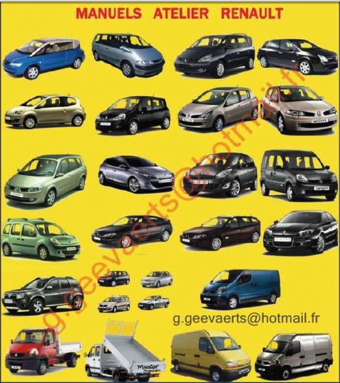 manuel d'atelier Renault // Dacia