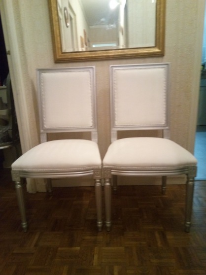 chaises style empire. - Annonce gratuite marche.fr