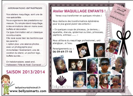 Annonce occasion, vente ou achat 'MAQUILLAGE ENFANTS & ADULTES'